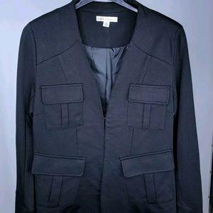 Cato 8 Blazer Jacket Solid Black Career